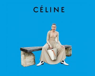 Смарт поп-арт: весенний кампейн Celine-430x480