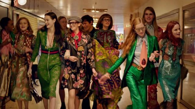 Привет из 80-х в новом видео Gucci, ss '16-320x180