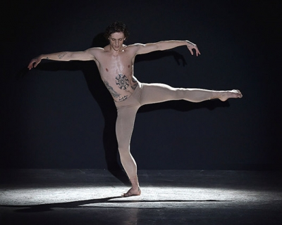 Сергей Полунин выступил на мужской Неделе моды в Милане-430x480