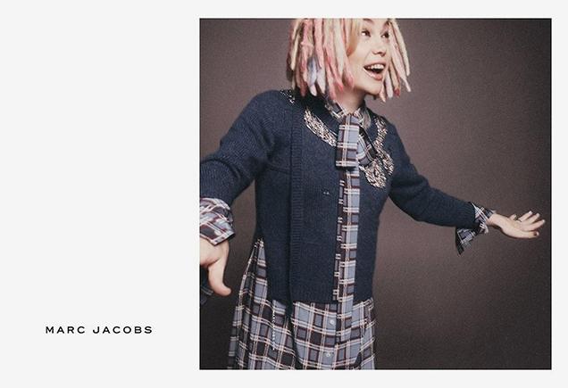 Лана Вачовски стала новой героиней весенней кампании Marc Jacobs
