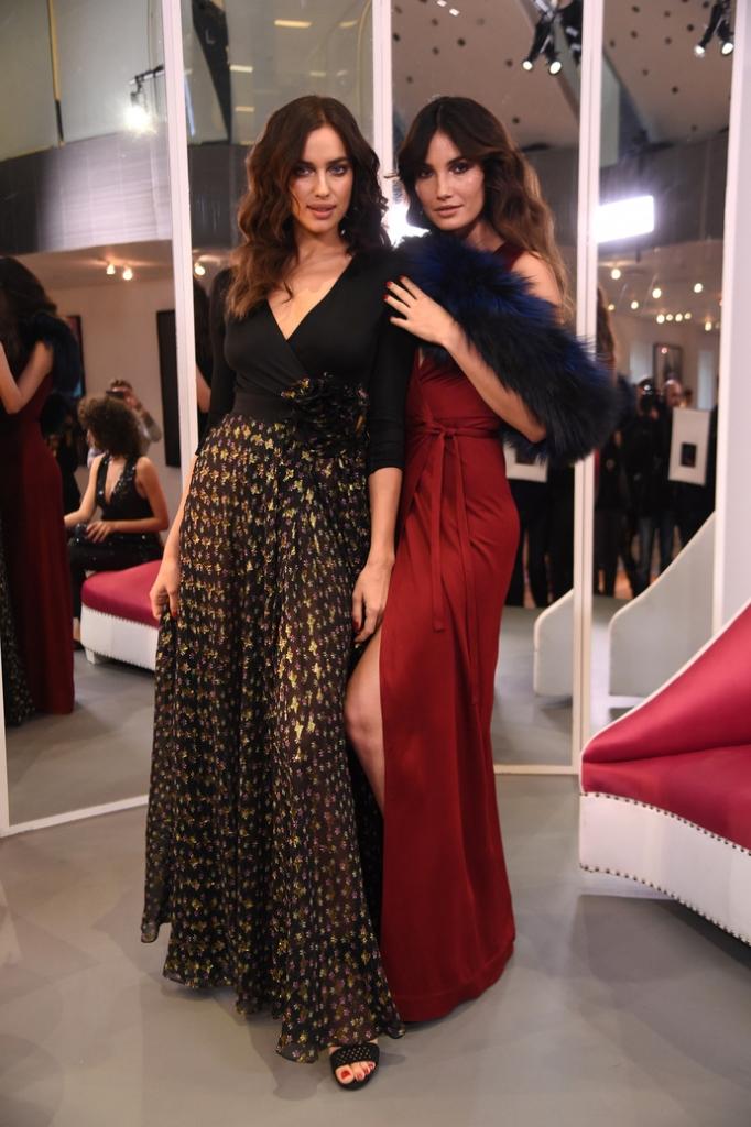 Diane Von Furstenberg - Front Row & Backstage - Fall 2016 New York Fashion Week