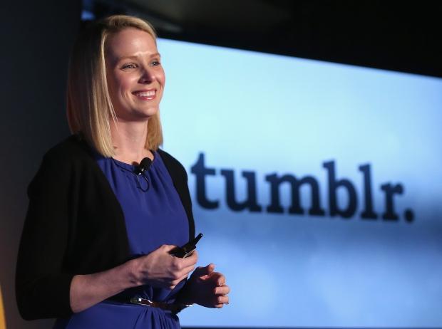 Марисса Майер говорит о приобретении компании Tumblr за $1,1 миллиард