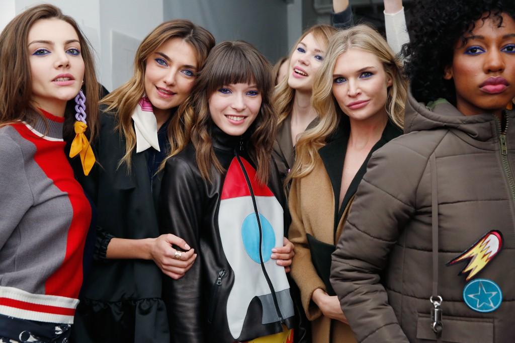 Anna K- Backstage - Fall 2016 MADE Fashion Week