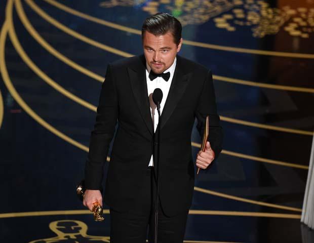 Он сделал это! Леонардо ДиКаприо получил «Оскар»-320x180