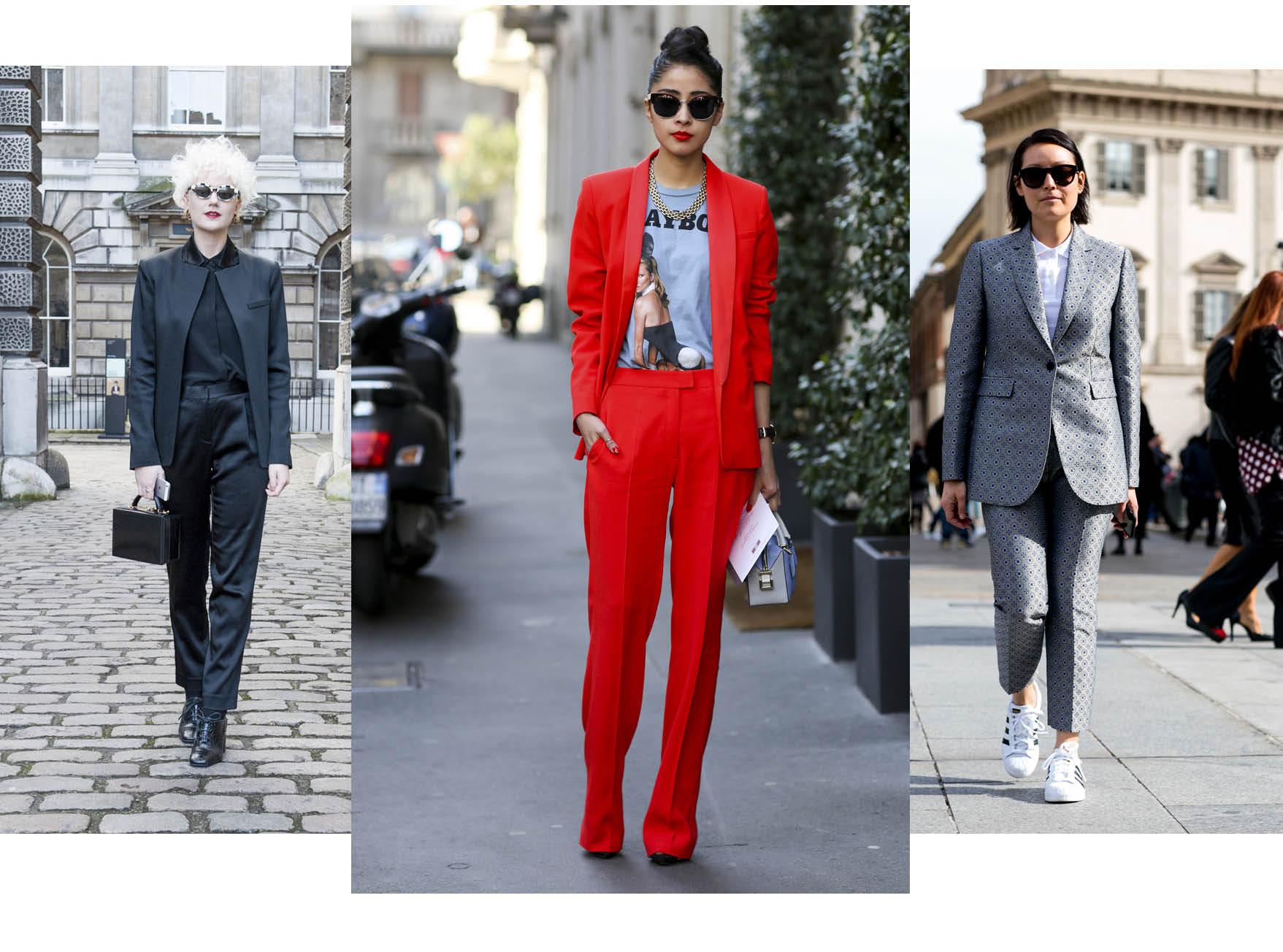 Street style тренд: брючный костюм-320x180