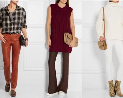 Ближе к телу: лучшие кожаные брюки сезона-430x480