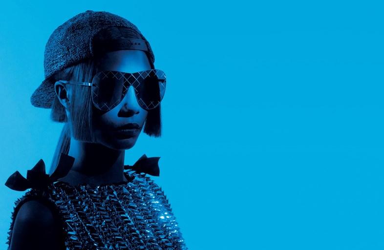 Кара Делевинь в рекламной кампании Chanel Eyewear-320x180