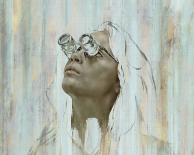Кара Делевинь стала героиней новой художественной выставки-430x480
