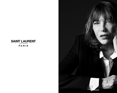 Джейн Биркин присоединилась к Saint Laurent Music Project-430x480