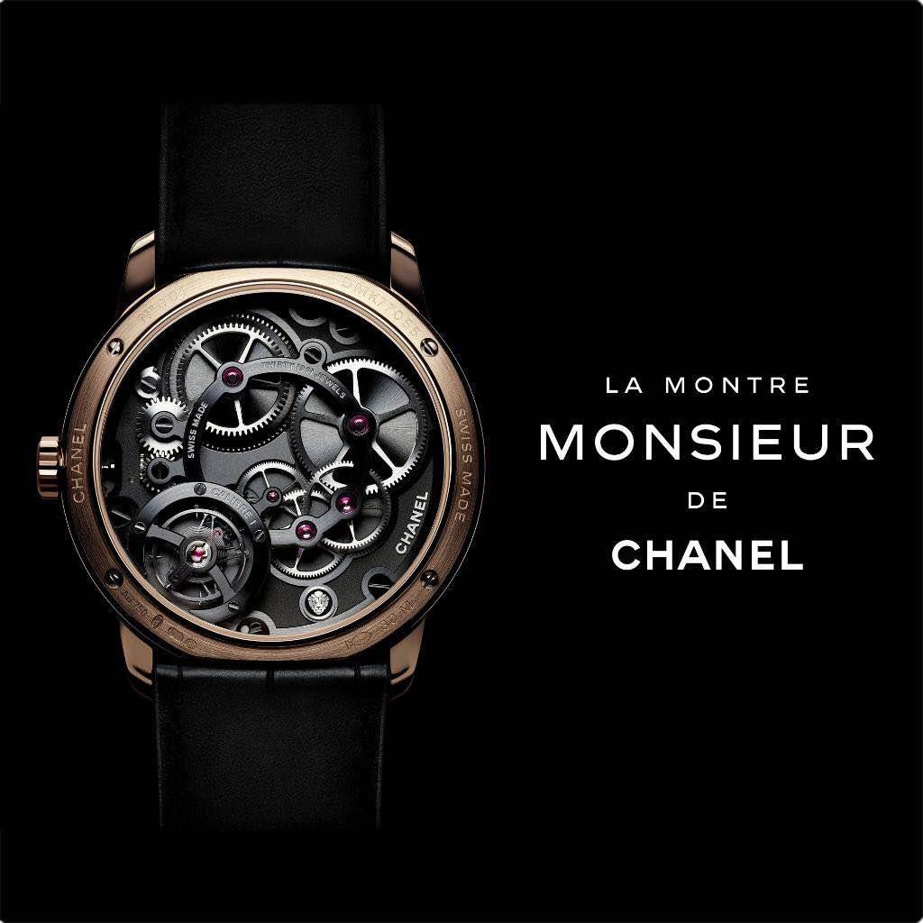 Chanel представили мужские часы Monsieur-320x180