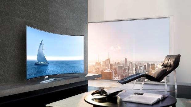 Картина маслом: телевизор Samsung SUHD TV-320x180