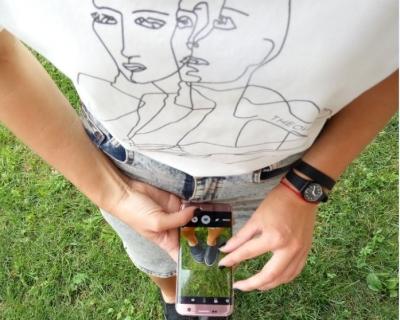 Розовые мечты: уик-энд в Одессе с новым смартфоном Samsung Galaxy S7 edge Pink Gold-430x480