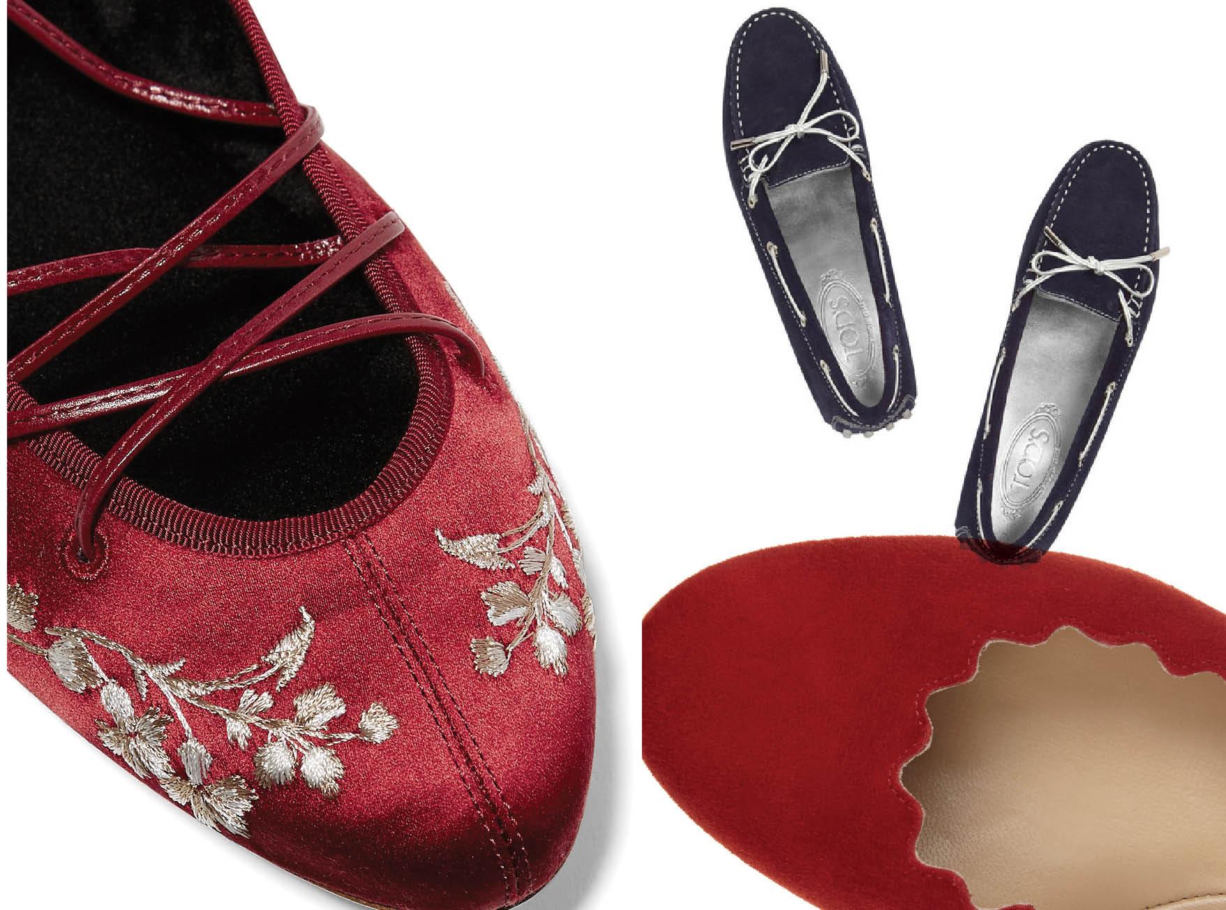 Покой вашим ногам: туфли на плоской подошве-320x180