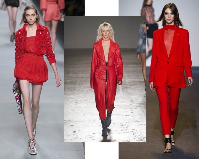 Тренд сезона: красный total look-430x480