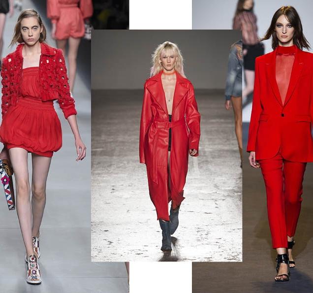 Тренд сезона: красный total look