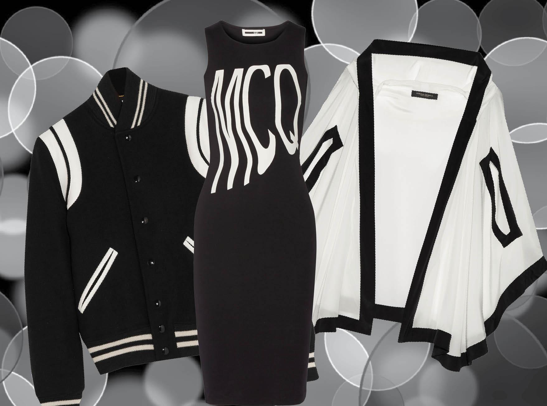 Тренд сезона: черно-белые вещи-320x180