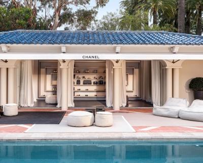 Бутик Chanel открылся в частном особняке-430x480