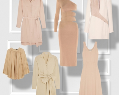 Выбор Marie Claire: платья нейтральных оттенков-430x480