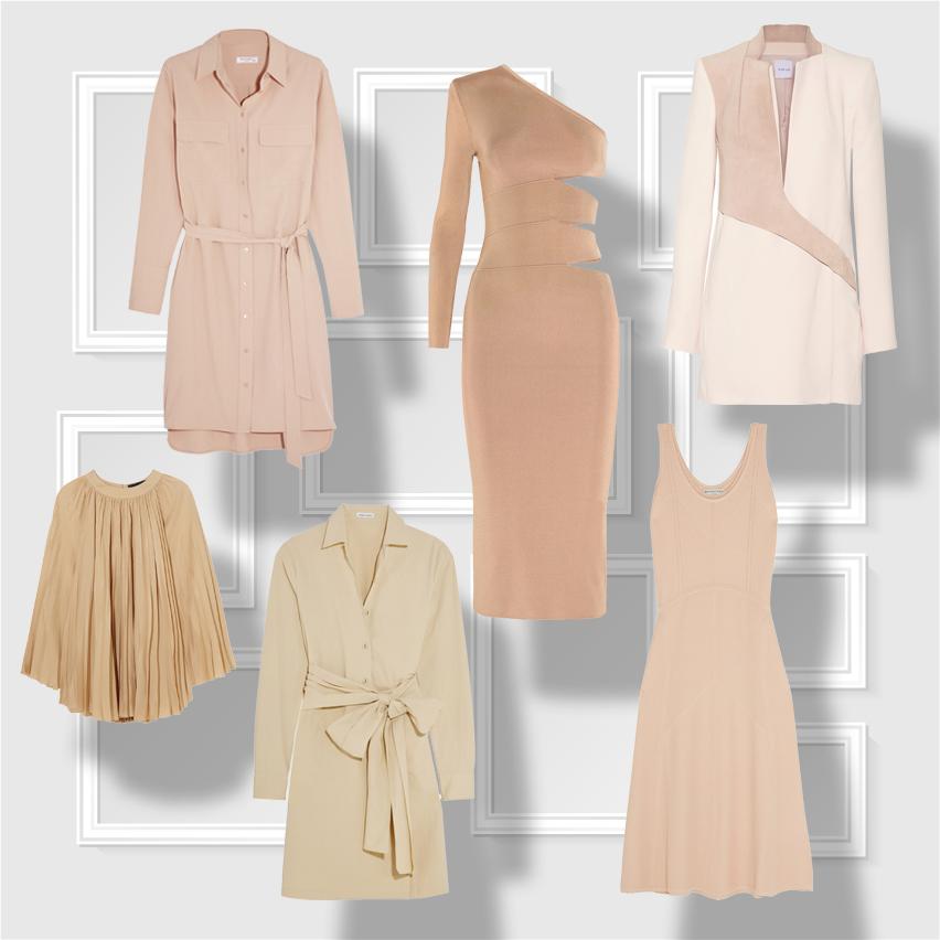 Выбор Marie Claire: платья нейтральных оттенков-320x180