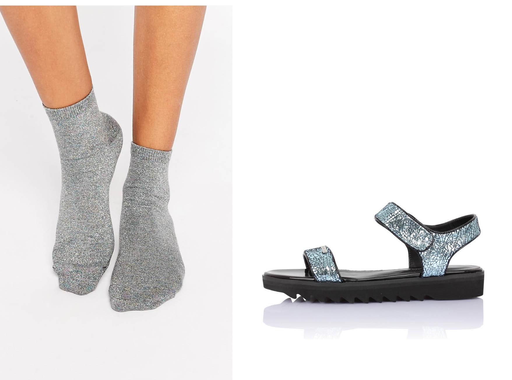 Как носить босоножки с носками-320x180