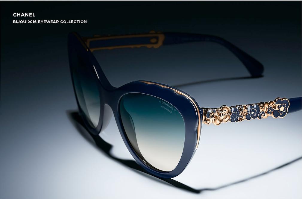 Камелия − новый символ коллекции очков Chanel Bijou-320x180