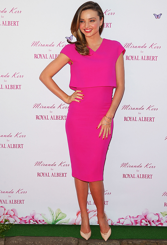 Miranda Kerr Public Appearance At Royal Albert Pop-Up Store Sydney