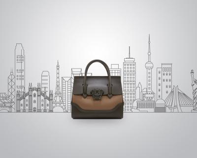 Versace объявили конкурс «7 сумок − 7 городов»-430x480