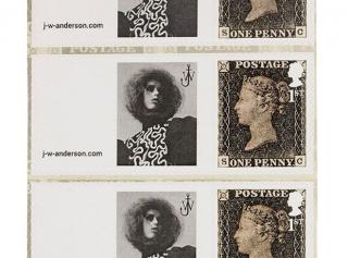 Рекламная кампания J.W. Anderson вышла на почтовых марках