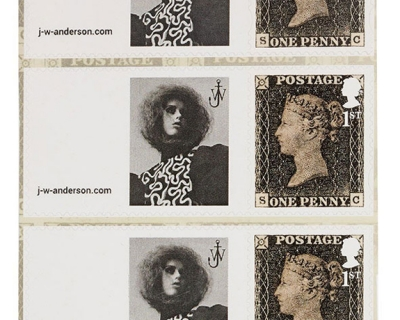 Рекламная кампания J.W. Anderson вышла на почтовых марках-430x480