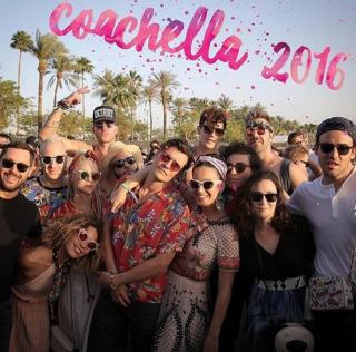 Кэти Перри и Орландо Блум вместе на фестивале Coachella