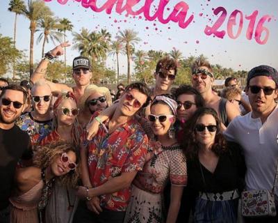 Кэти Перри и Орландо Блум вместе на фестивале Coachella-430x480