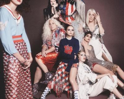Двойник Хлои Севиньи в кампании Marc Jacobs-430x480