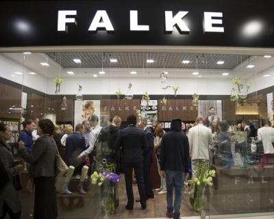 Открытие монобренда FALKE в Киеве-430x480