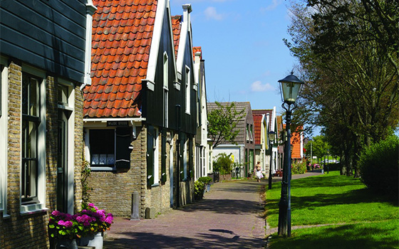41513_fullimage_Texel a street with holiday homes and houses