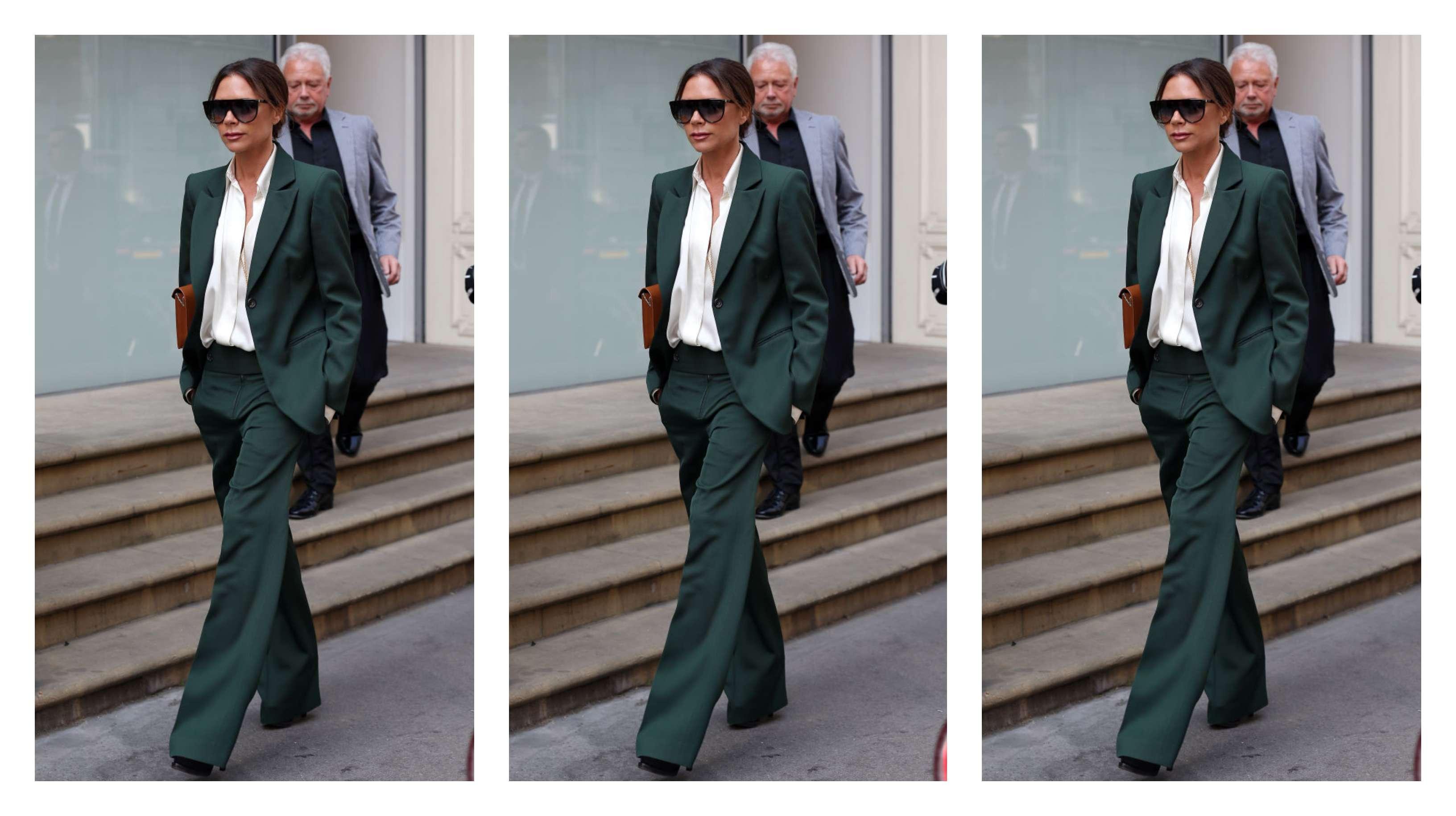 Звездный стиль: business casual от Виктории Бекхэм-Фото 1