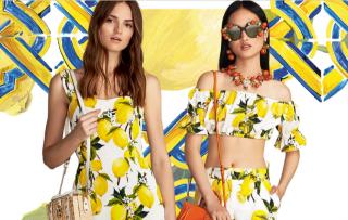Итальянское лето: коллекция Dolce&Gabbana c лимонным принтом