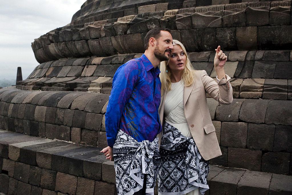 Crown Prince Haakon And Crown Princess Mette Marit Of Norway Visit Indonesia - Day 3