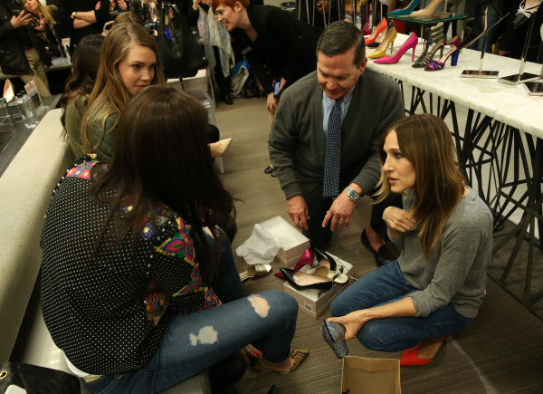 Sarah Jessica Parker Promotes New Line Of Designer Shoes At Bloomingdales
