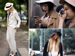 Стрит-стайл: как и с чем носят шляпы в Италии