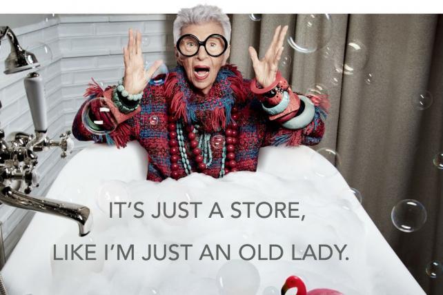 «Я просто пожилая леди»: 94-летняя Айрис Апфель в рекламе Pirch-320x180