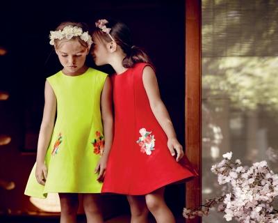 Fashion baby: детская коллекция Dior для девочек-430x480