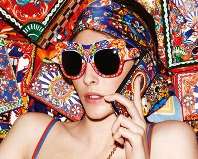 Родом из Сицилии: новые очки Dolce & Gabbana-430x480