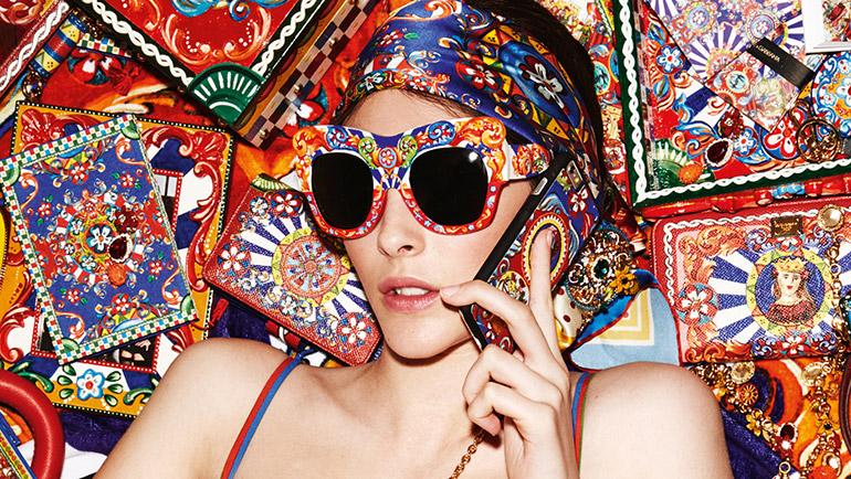 Родом из Сицилии: новые очки Dolce & Gabbana-320x180