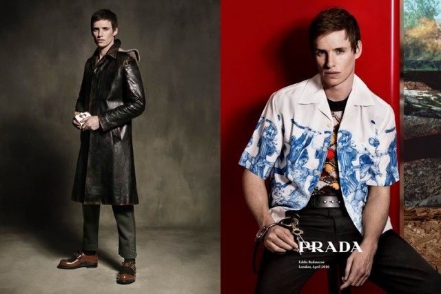 1176706 e1465848483681 - Актер Эдди Редмэйн - новое лицо коллекции Prada.