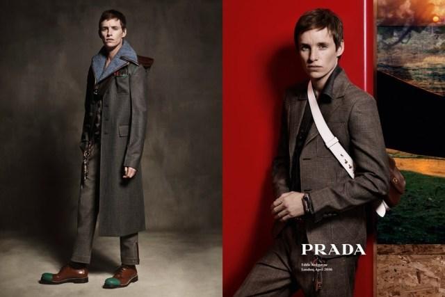 1176707 e1465848493626 - Актер Эдди Редмэйн - новое лицо коллекции Prada.
