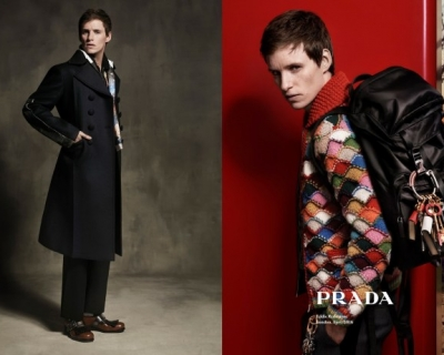 Эдди Редмэйн стал лицом коллекции Prada AW'16-430x480