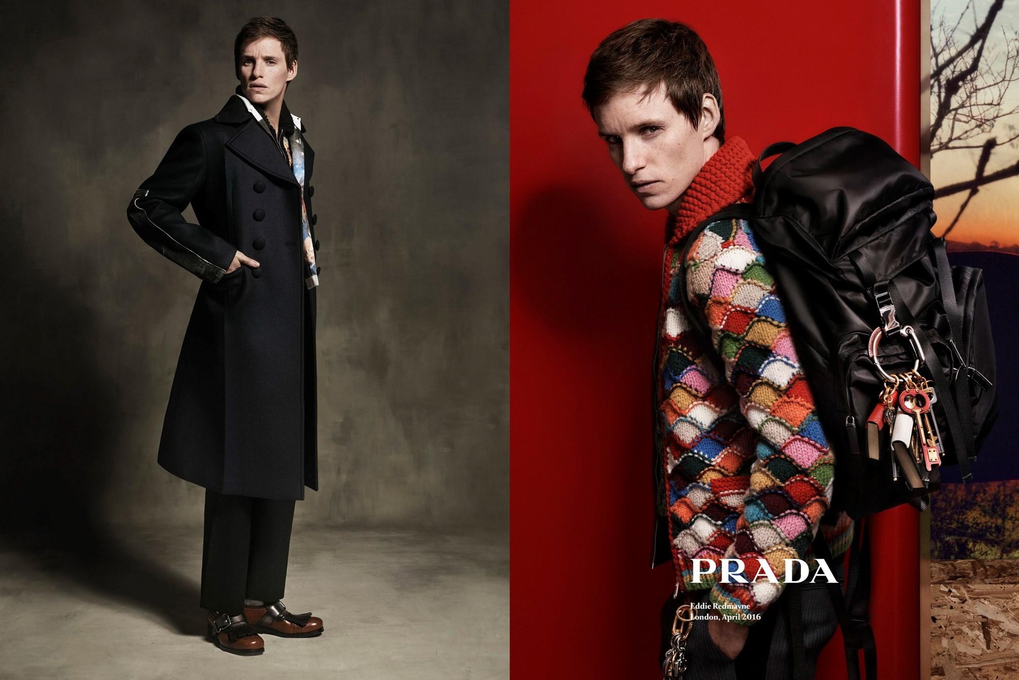 Эдди Редмэйн стал лицом коллекции Prada AW'16-320x180