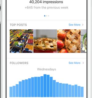 Instagram создает бизнес-профили-430x480