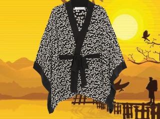 С чем носить кимоно