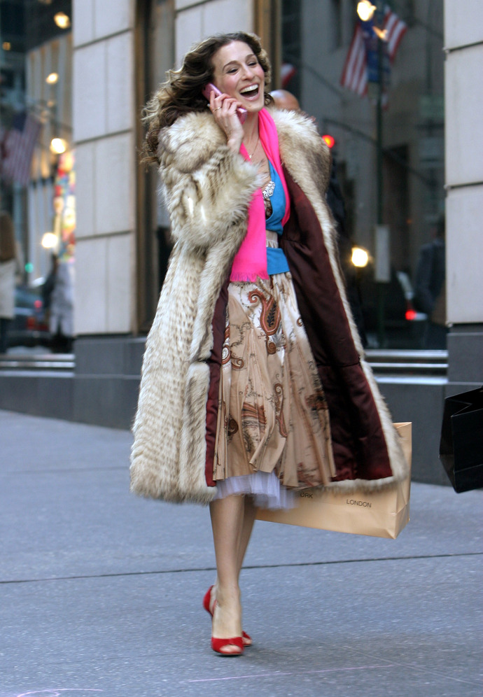 Sex and the City - Final Day of Taping - Fifth Avenue - February 4, 2004
